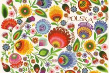 folk art florals