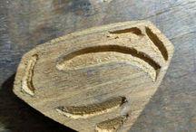 wooden bolo tie