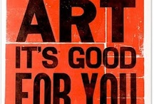 Art. It's good. / Do you like arty stuff. Then this is the board for you. Random pinnings of art, arty quotes and other artynesses. / by Peter Daams