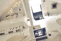 pokoje a ložnice