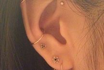 Piercings d'oreilles