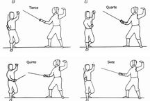 Sword play / Fencing