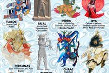 Mitologia comparata a lumii
