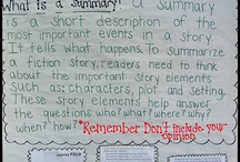 Summarizing in 2nd / Strategies for summarizing