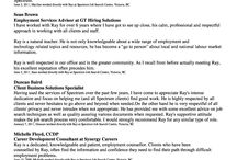 Ray Resume and Recommendations / My resume and Linked-In Recommendations.