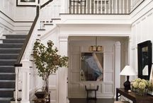 {home: entryway + living area} / by Karley Hill