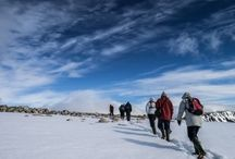 ★ Hiking and snowshoeing ★