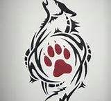tatuaggi lupo