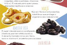 Frutas Secas e Sementes