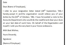 Resignation Acceptance Letter Format / A resignation acceptance letter is the letter to an employee from an employer who have received and accordingly accepted the letter of resignation previously sent by the employee.
