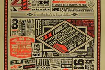 Graphic Design Inspirations / by Catherine Lodigiani