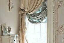 White vintage decorating