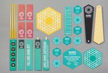 Graphic + Branding Inspiration / by Ananda Bhavani Design