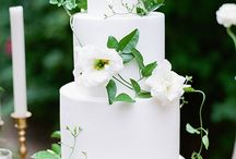 Decor and wedding cake
