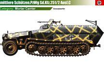 WW2 - SDKFZ 251/2