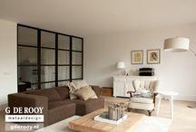Blaricum: kamer en suite met stalen deuren / In Blaricum hebben we in een woning een kamer en suite mogen creëren met behulp van dubbele stalen deuren en glaspanelen aan beide zijden. Zowel de stalen deuren als de zijpanelen zijn uitgerust met veiligheidsglas.