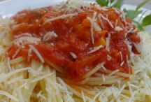 pasta recipes / greek traditional foods