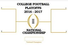 Playoff Brackets / NFL, NBA, NHL, NBA, MLS and College Football Playoff Brackets