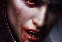 Fantasy vampire