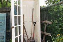 backyard/patio/pool decor and organization