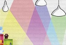 роспись стен детская