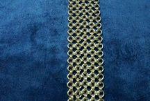 Chain maille armbanden / Gemaakte armbanden en kettingen