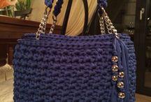 tašky pletené