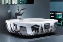 Basins / Some great bathroom basins and sinks, ranging from wall hung basins to contemporary basins with cool designs. With glass basins, inset basins and basins with pedestals, the choice is varied. The shapes of some of these basins are unique and great for creating a gorgeous bathroom or cloakroom. Perfect for adding individuallity to any ensuite, bathroom or closet.