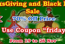 ThanksGiving and Black Friday Sale