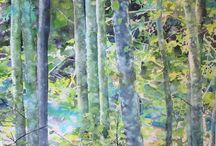 Trees to paint