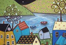 evler / by Melike Mısırdalı