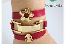 pulseiras vermelhos
