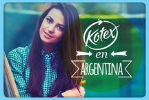 Kotex en Argentina