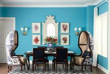 LaTRENDS: Mix & Match Dining / The beauty of 'mixing and  matching' in your dining room, vs. the 'dining room suite.'