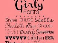 Fonts / by Encore Banners