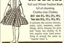 Keeping it old school. / Vintage advertisements.