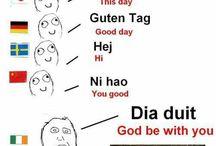 Språklige snurrepiperier