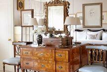Espelhos casa de jantar
