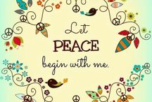 Peace - One Little Word 2014 (Jep) / Follow my OLW journey - through the word peace.