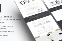 PSD Templates by Milothemes / Our portfolio of PSD Templates from Envato Marketplace.  http://themeforest.net/user/milothemes/portfolio