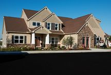 The Belmont Covington Model / If you love the Belmont Covington Model and are interested in having this plan for your new custom home, visit http://waynehomes.com/plan/covington. / by Wayne Homes
