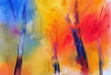 _trees painting