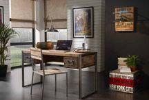 SCRIVANIE / Idee per decorare la vostra casa con diversi stili di scrivanie