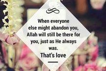 allah / Allah S.W.T.