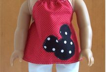 Mickey outfit / Cut red black and white outfit