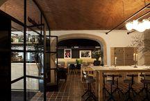Restaurante gallego / Tipología de diseño. Restaurante clásico.