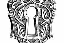 Zamki,kłódki,klucze