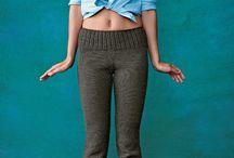вязание брюки