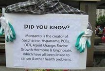 GMO's/Monsanto/Chemicals / Educate yourself on what is in your food!