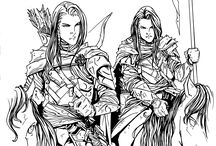 Elladan & Elrohir - Silmarillion